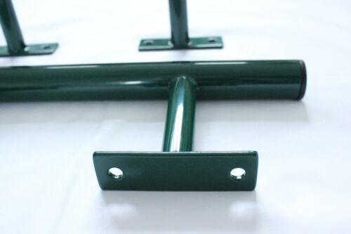 Set di barre d/'acciaio per bandiere umane e formazione callisthenics in Verde O Blu