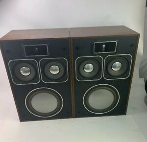 Vintage-HI-FI-Audiophile-Panasonic-Thrusters-Model-SB-700-Speakers