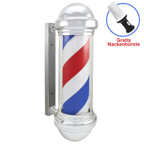 BarberShop Möbel Barber Pole LED  Barbierstab klassisch weiß//blau//rot Friseur