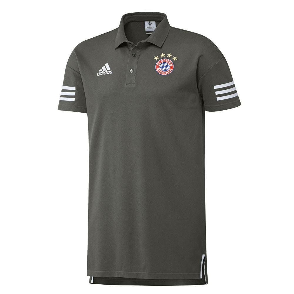 FC Bayern München München München Polo Shirt adidas grau a061ff