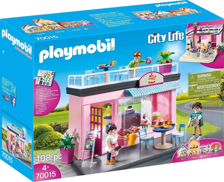 Playmobil - City Life - 70015 - Mein Lieblingscafe - NEU OVP