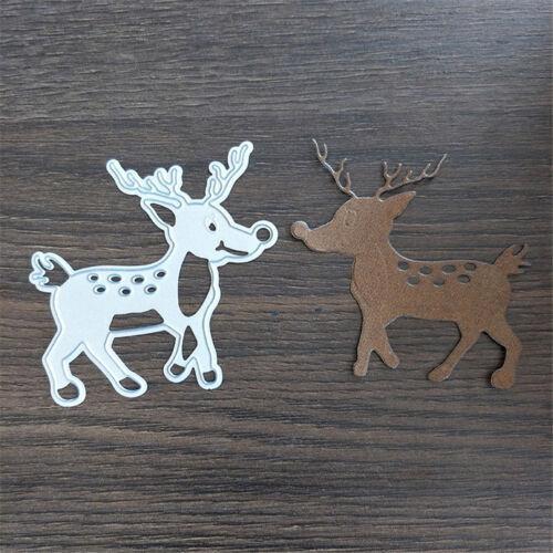 Deer Animal Design Cut Die Gift Paper Card Decoration Embossing Folder