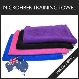 Microfiber Towel Gym Training Sport Footy Travel Camping Swim Beach Microfibre
