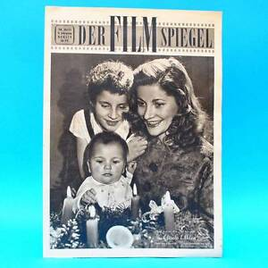 GDR-Filmspiegel-26-1955-Gisela-Uhlen-Paul-Wiens-Xmas-Animated-Movie-Dresden