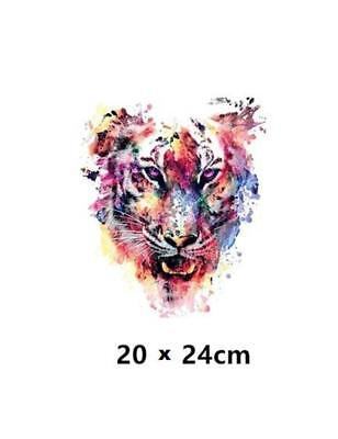 COLOURFUL IRON-ON HEAT TRANSFER//APPLIQUE A129...A TIGER
