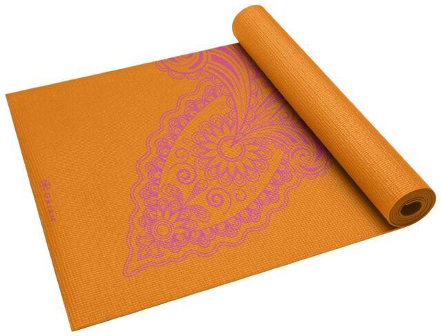 Spiral Motion 5//6mm Lightweight Durable Gaiam Premium Print Reversible Yoga Mat