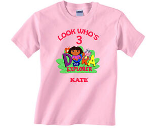 Image Is Loading Personalized Custom Dora The Explorer And Boots Birthday