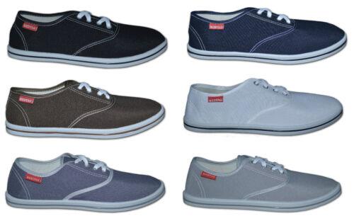 Grey /& Beige Mens Plain Canvas Shoes Size 6 to 11 Free Postage!! Colour Navy