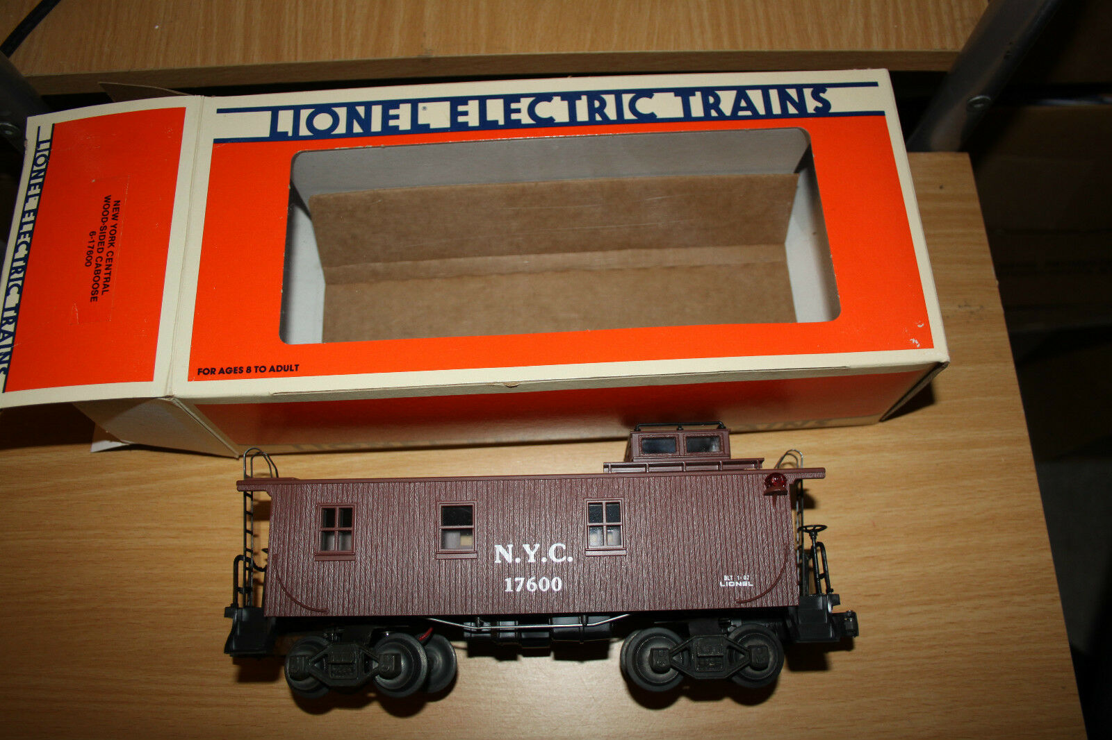 Lionel O scale woodside caboose road New York Central  New 1987