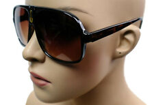 NEW MEN OR WOMEN TURBO RETRO CLUB DESIGNER AVIATOR SUNGLASSES TORTOISE 870HPA