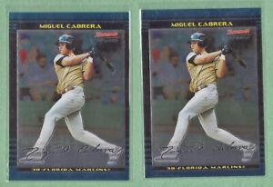 MIGUEL CABRERA - Florida Marlins, 2002 Bowman Chrome Draft Baseball #BDP156 (2)