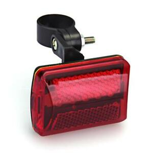 USB Rechargeable Bike Tail Light LED Bicycle Safety Cycling Warning Rear Lamp
