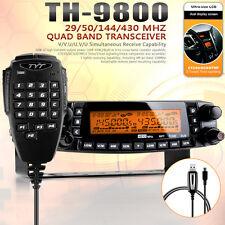 TYT TH-9800 PLUS 50W 809CH Quad Band Dual Display Repeater Car Ham Mobile Radio