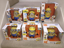 Lot of 6: Talking & Dancing Despicable Me movie MINIONS Dave Tim Stuart Jerry