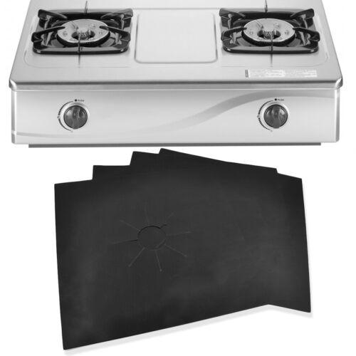 2//10 × Réutilisable Non-Stick Gaz Cuisinière Gamme Housse Protecteur Liner plaque Easy Clean F