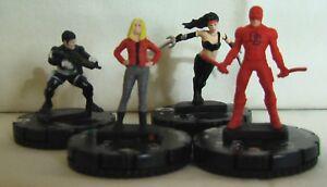 HeroClix-Extras-Lot-Marvel-Knights-amp-Netflix-Characters-Marvel-Daredevil