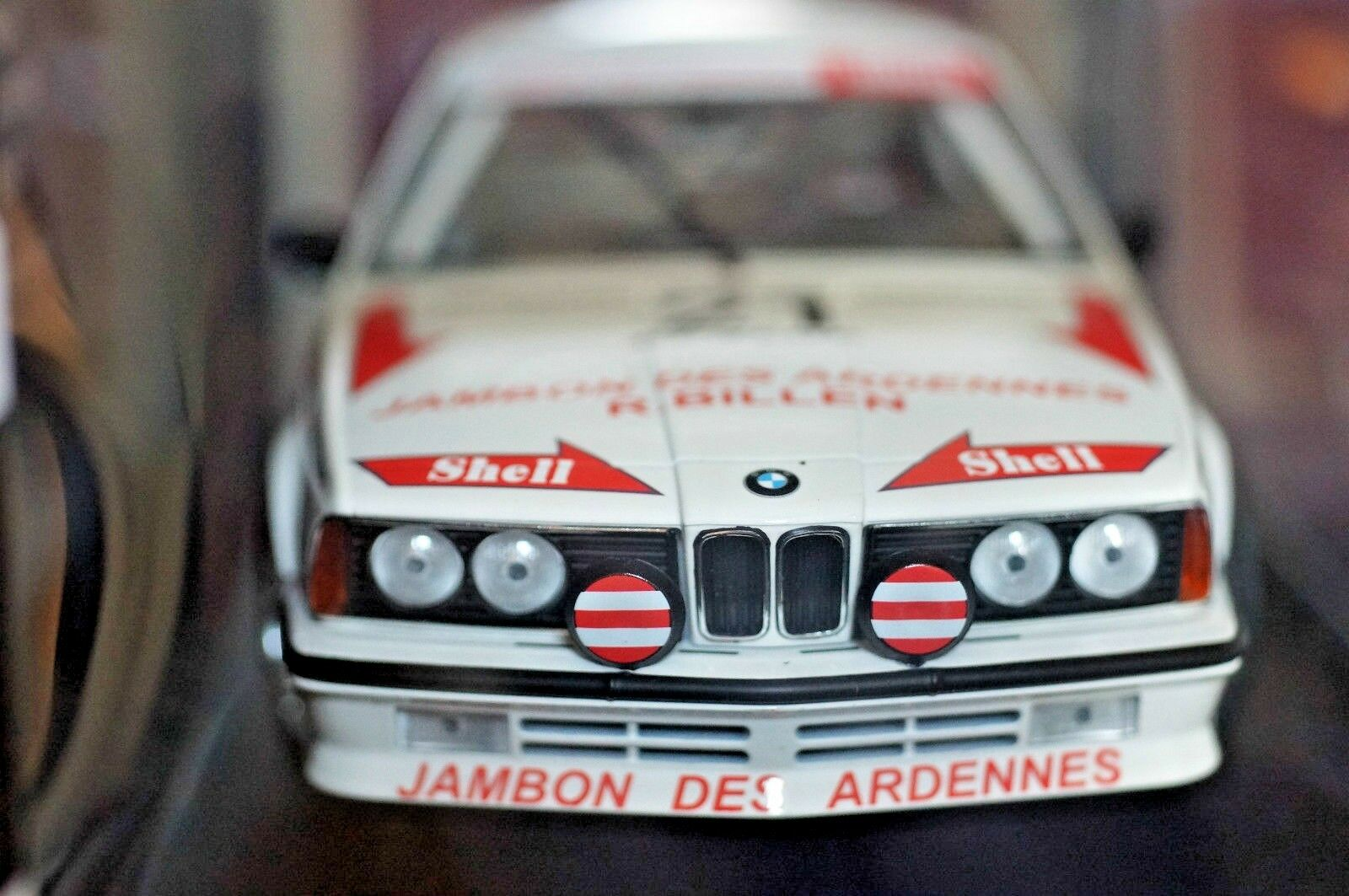 Minichamps 1  18 BMW 635csi Racing Edition Comme neuf Boxed Sealed Grohs Bcourir 1985  pas cher