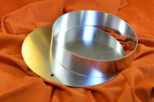 Tortenring und Tortenunterlage Aluminium 26cm