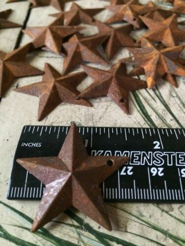 """1.5/"""" /& 100 200 Rusty Barn Stars 100 2.25/"""" Country Rust Craft WEEKLY SPECIAL"""