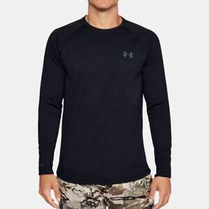 Under-Armour-Men-039-s-ColdGear-Base-4-0-Crew-Long-Sleeve-Shirt-Black-1353349-001
