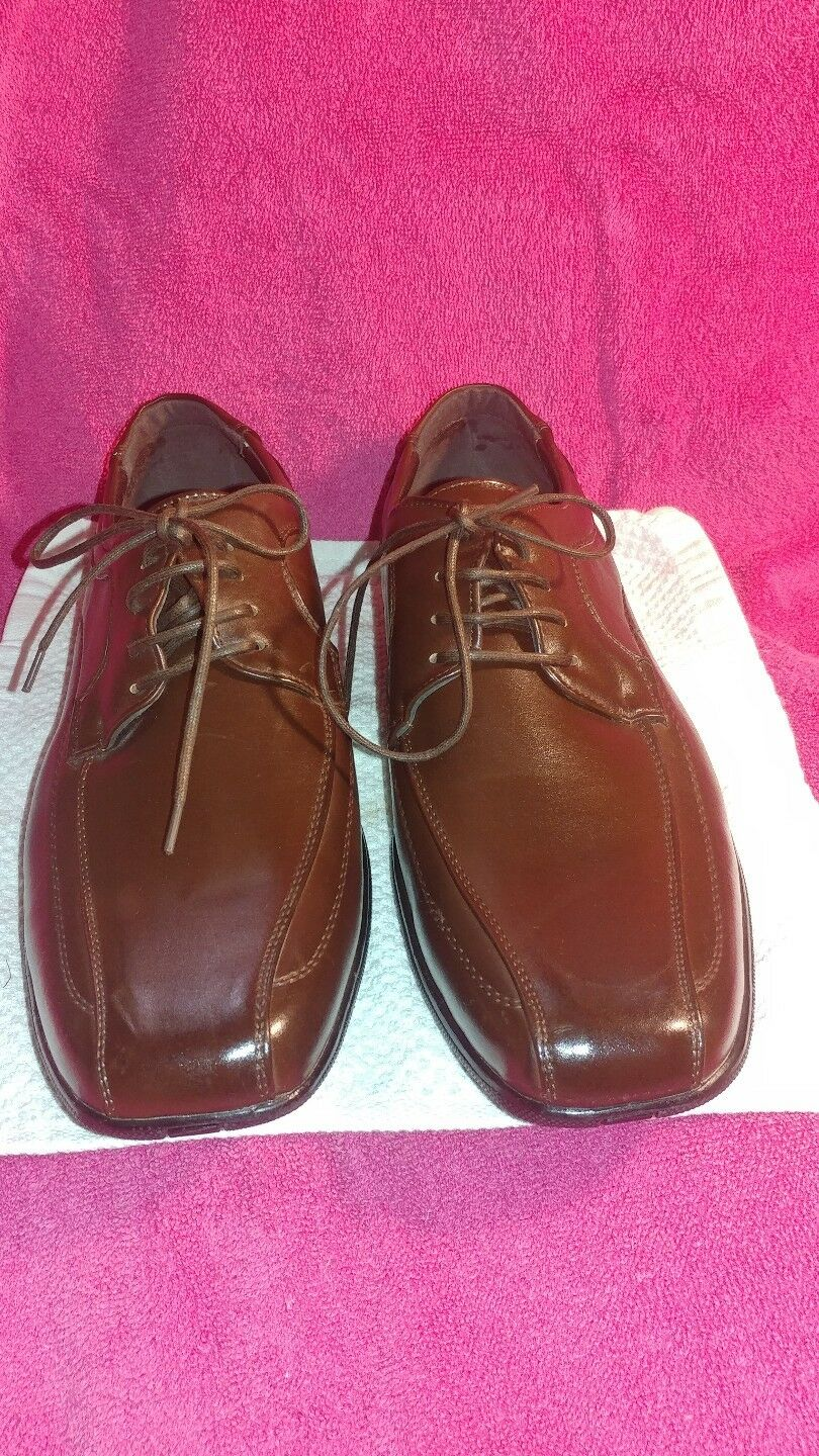 Scarpe casual da uomo  FERRERA COUTURE New Yoek uomos 8 EYE LID BROWN  SHOES SIZE 10