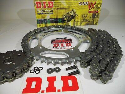 Black O-Ring Chain and Sprocket Kit for Suzuki GSX750 F Katana 1987 1988 1989 1990 1991 1992 1993 1994 1995 1996 1997