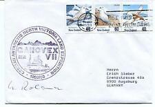 1993 GANOVEX German North Victoria Land Christchurch Polar Arctic Cover SIGNED