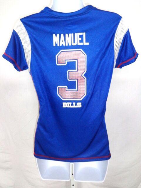 Buffalo Bills Football EJ Manuel Ladies Draft Me Jersey Shirt Blue ...