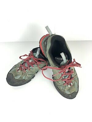 Ladies Merrell Leather Lace Up Trainers Capra J32456