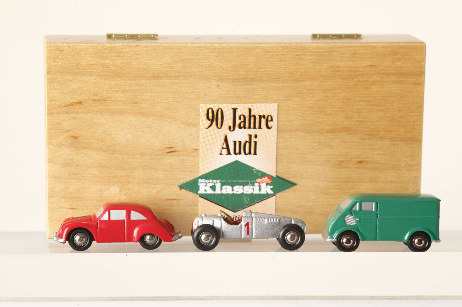 Schuco Piccolo 3er-Set 90 Jahre Audi 0053  DKW 3 6  Auto Union Typ C DKW Transp.