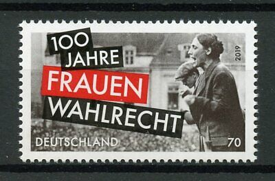 Germany 2019 Mnh Womens Suffrage Voting 1v Set Historical Events Stamps Een Effect Produceren Voor Een Heldere Visie