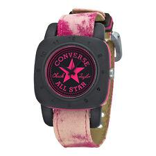 Converse Premium Black Dial Pink Canvas Unisex Watch VR-029-600