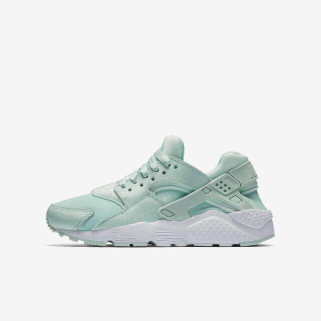 Nike Air Huarache Run se Bambini Scarpe da Allenamento Misura 5 Igloo Bianco