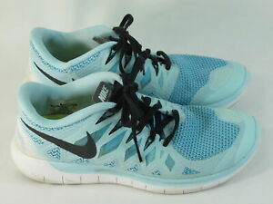 Nike-Free-5-0-Running-Shoes-Women-s-Size-8-US-Excellent-Plus-Condition