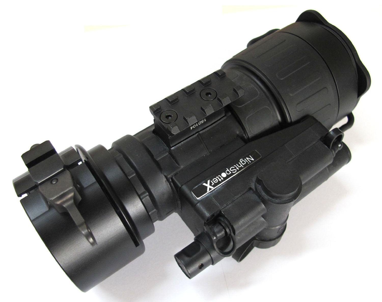 Nachtsichtgerät Nachtsicht Vorsatzgerät Nightspotter X Gen. 2+ green High R. NEU