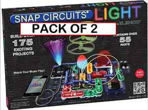 PACK-OF-2-Snap-Circuits-LIGHT-SCL-175-iPod-and-iPhone-compatible-175-projects
