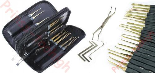 lockpicking lock pick set locksmith tools crochetage serrure unlocking Goso !!!!