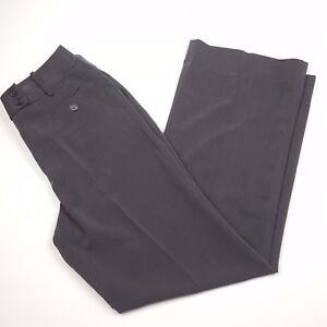 d93a8c2c Dressbarn Dress Pants Womens Size 6 Gray Pleated Straight Leg Career ...
