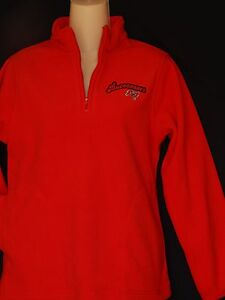 b8bcc529 Details about NEW Tampa Bay Buccaneers Pullover Fleece Red 1/4 Zip Up  Jacket Women's Sizes S M
