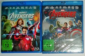 The-Avengers-1-und-2-Age-of-Ultron-Blu-Ray-NEU-Marvel