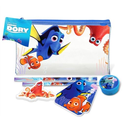 Finding Dory Filled Pencil Case Sharpener Pencil Eraser Notebook Nemo Stationery