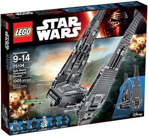 Lego-Star-Wars-Kylo-Ren-039-s-Command-Shuttle-75104-BRAND-NEW-SEALED