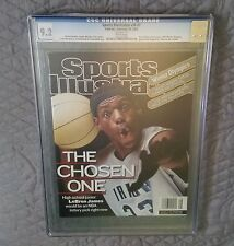 Sports Illustrated 2002 LeBron James FC CGC 9.2 Near Mint!!! Gorgeous!!!