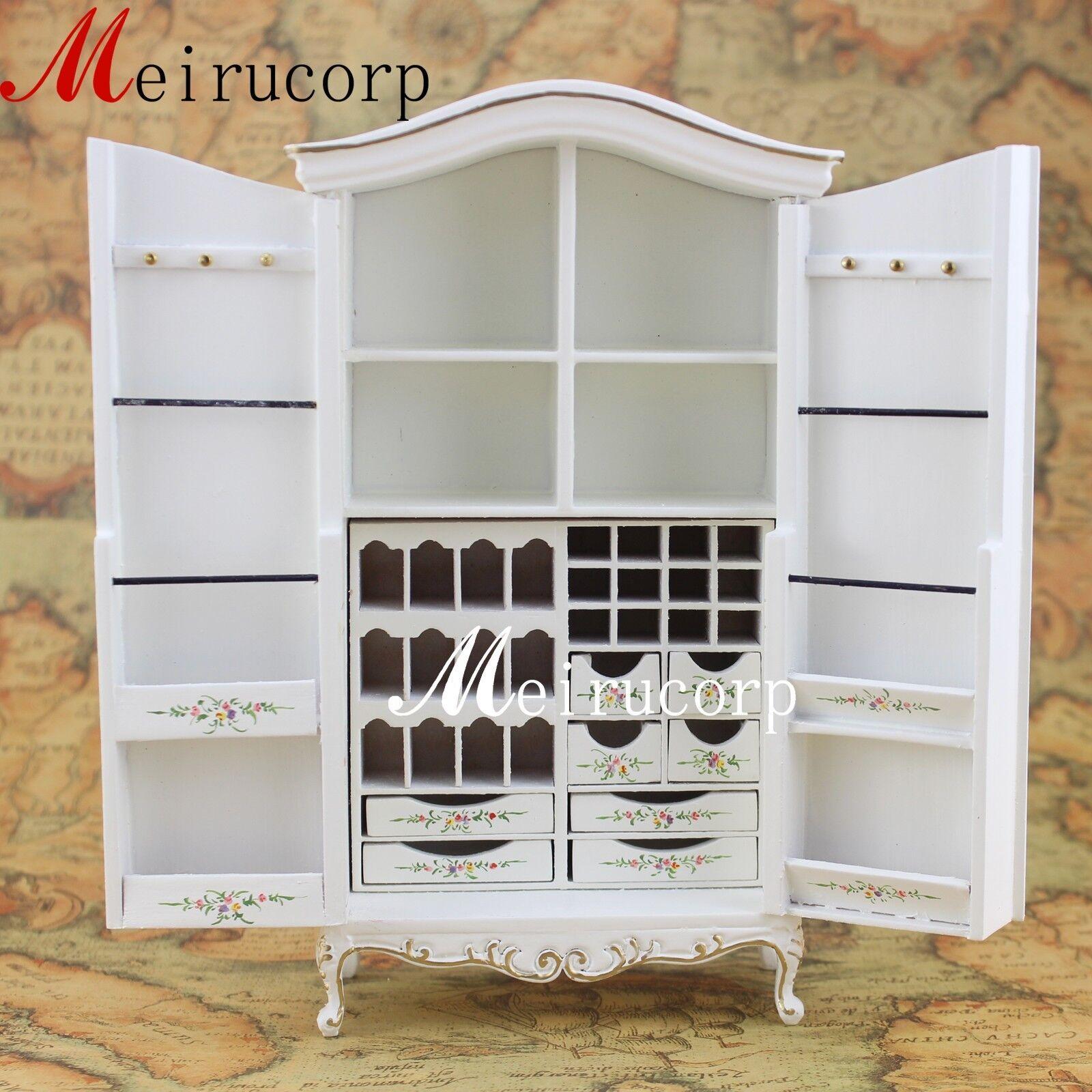 Fine 1:12 scale dollhouse miniature furniture handmade bianca distinctive cabinet