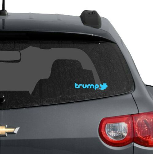 TRUMP TWITTER DIE CUT DECAL SOCIAL MEDIA MAGA 2020 WINDOW BUMPER STICKER