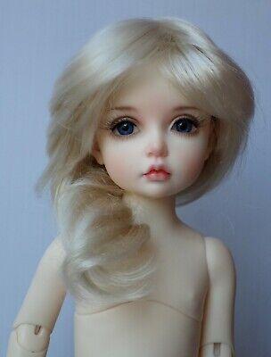 1//6 BJD Doll Girl Dolls Unpainted Body Bare Doll Eyes Face Makeup Resin E
