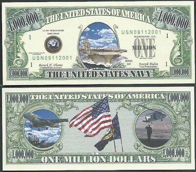 Original FreeMason Million Dollar Fake Funny Money Novelty Note FREE SLEEVE