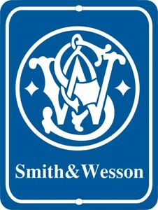 SMITH-amp-WESSON-Firearms-Metal-Aluminum-Tin-Sign-9-034-x-12-034