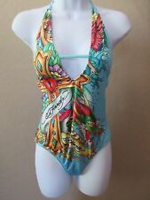 Ed Hardy by Christian Audigier one-piece bathing suit- size Small (S)