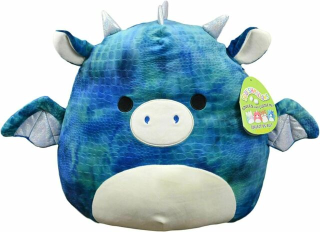 Squishmallow 16in, Dominic The Dragon,Stuffed Animal, Super Pillow Soft Plush